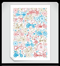 Affiche 1001 vélos