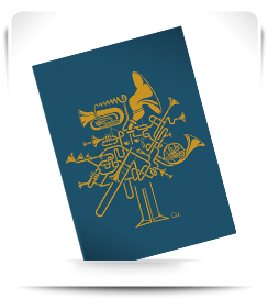 Carte postale Fanfare