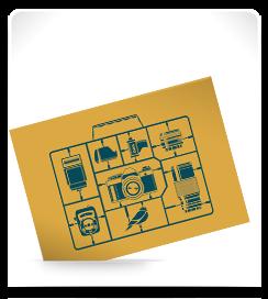 Carte postale Dak