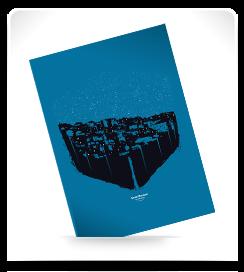 Carte postale Les pentes 5