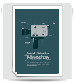 Affiche Arme de distraction massive