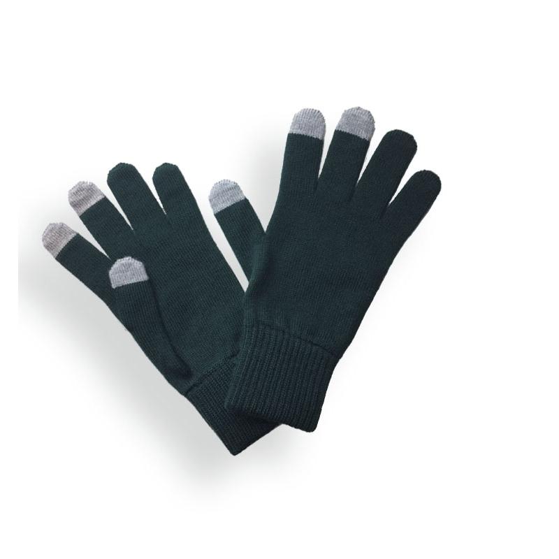 Gants femme Vert Sapin. Gants tactiles Laspid made in France ... 4aef02075c4