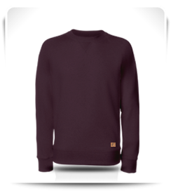 Sweat col rond figue