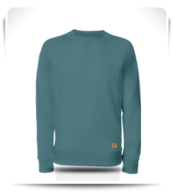 Sweat col rond Brittany Blue