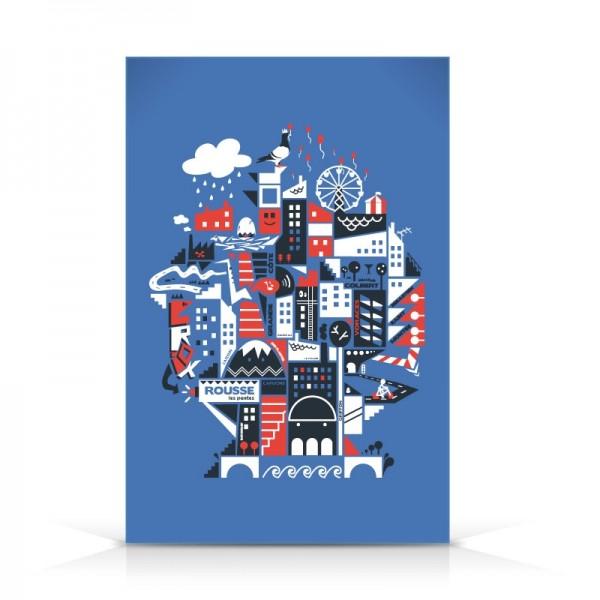 Favori Découvrez les nouvelles cartes postales Laspid | Laspid – Editeur  SQ65