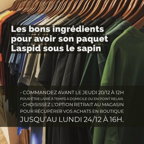 Tshirts Laspid Lyon noel